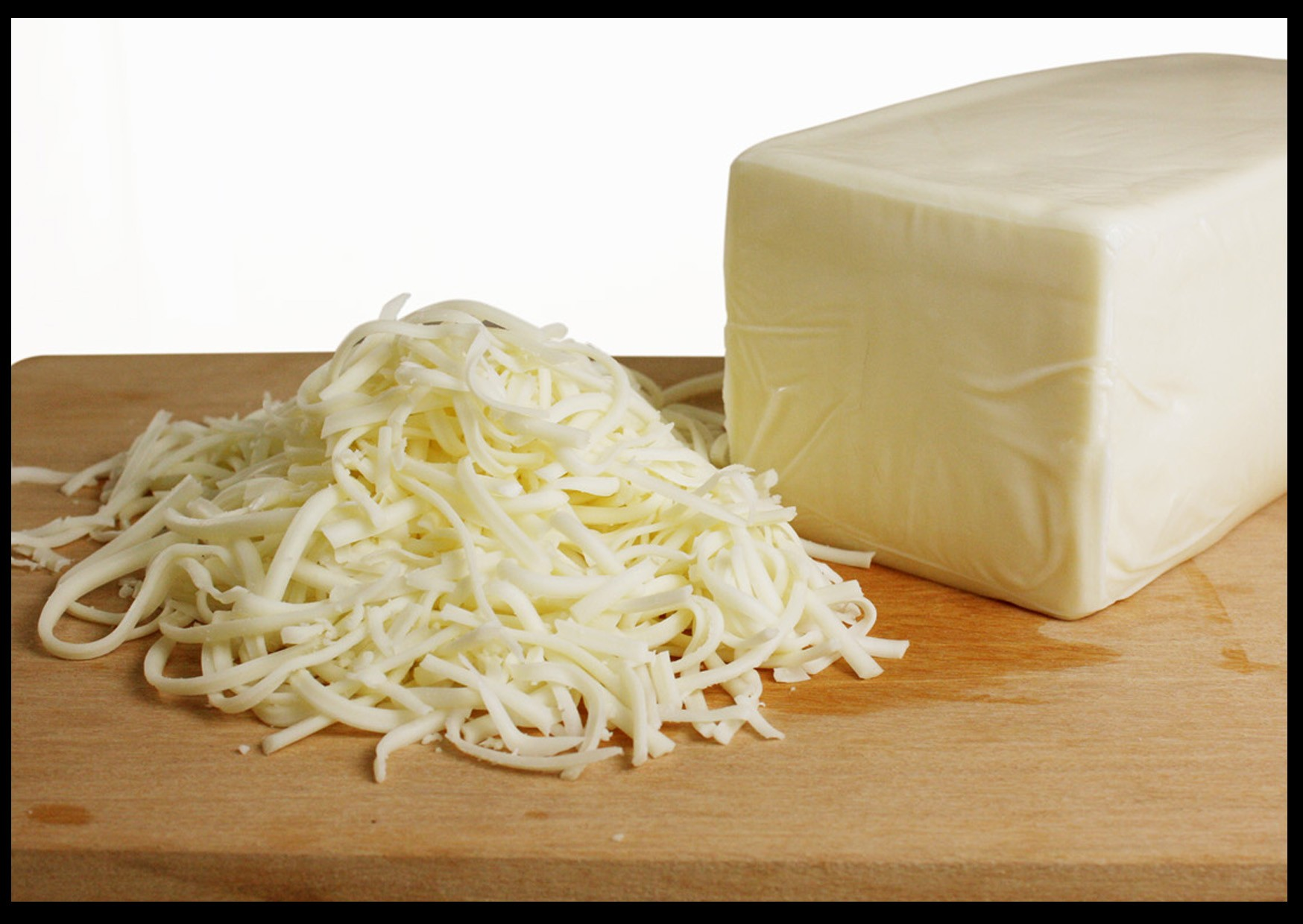 Cheese mozzarella, as well as from what do